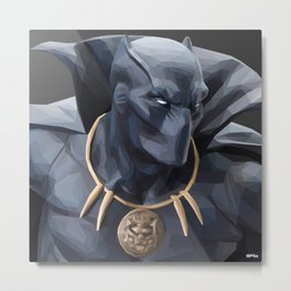 Black Panther (Chris Griffin Special Edition) Metal Print