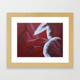 Broken - Fallen Angel Framed Art Print