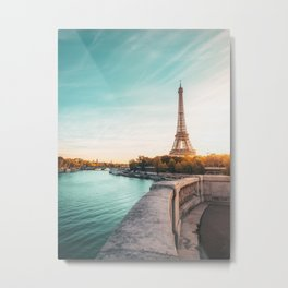 Eiffel Tower, Paris France v2 Metal Print
