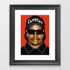 Compton city G Framed Art Print
