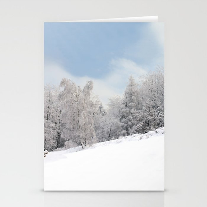 Winter Forest Stationery Cards
