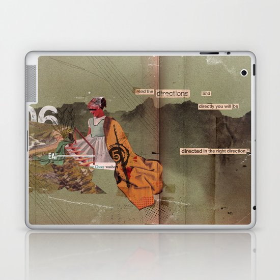 Read the Directions Laptop & iPad Skin