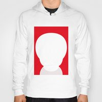 the who Hoodies featuring Who? by ONEDAY+GRAPHIC