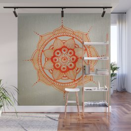 Mandala Creation #4 Wall Mural