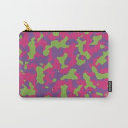 Camouflage Floral Carry-All Pouch