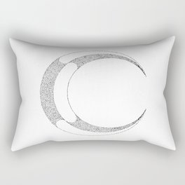 Metal Moon Rectangular Pillow