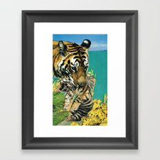 arsicollage_1 Framed Art Print