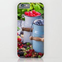 berries golubmka raspberries currants gooseberries blackberries cans vitamins iPhone Case