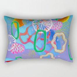 Alien Organisms 16 Rectangular Pillow