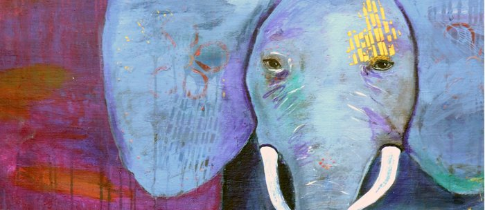 Spirit of the Elephant, Cropped Coffee Mug