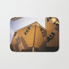 Cube houses Bath Mat