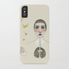 kara akciğer Slim Case iPhone X