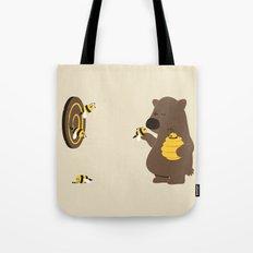 Bee game Tote Bag