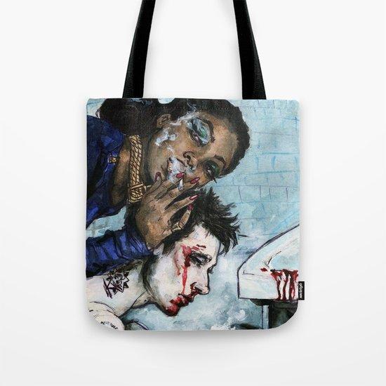 Naomi Campbell Tote Bag