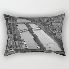 bridges to cross.. Rectangular Pillow