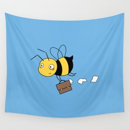Beezness Bee Wall Tapestry