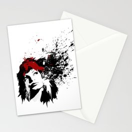Girls Hair Stationery Cards
