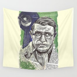 Sartre  - Nothingness Wall Tapestry