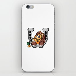 Lucky Horse Mom Riding Horses Pony Present Gift iPhone Skin