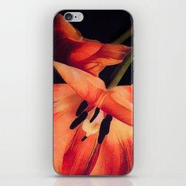 Orange Sentinels iPhone Skin