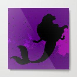 Mermaid Darkness Metal Print