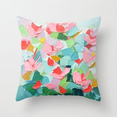 Afterglow Cherry Throw Pillow