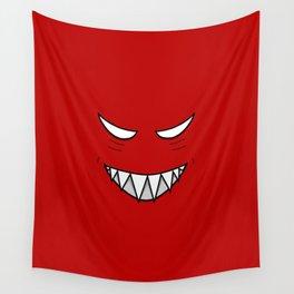 Evil Grin Evil Eyes Wall Tapestry