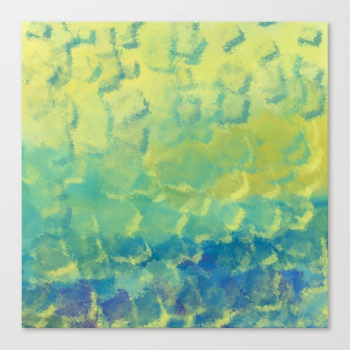 Watercolor Splash #1 #art #society6 Canvas Print