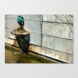 A Trickling Roar Canvas Print