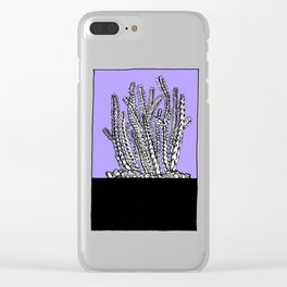 Cute Succulent and Cacti Series 04 Clear iPhone Case