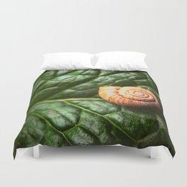 The Little Sleeping Snail Duvet Cover