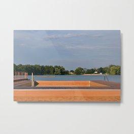 Kamencove jezero Metal Print