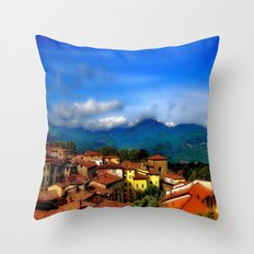 Barga, Italy Throw Pillow