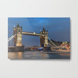 Tower Bridge Metal Print
