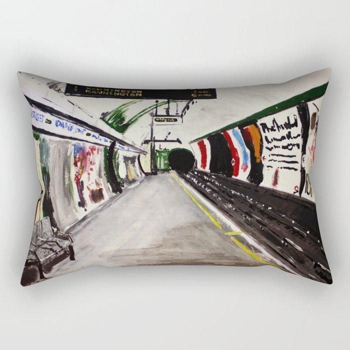 London Underground Goodge Street Rectangular Pillow