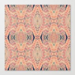 Tribal Pattern Turbans Canvas Print