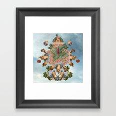 MYSTIC BOUQUET Framed Art Print