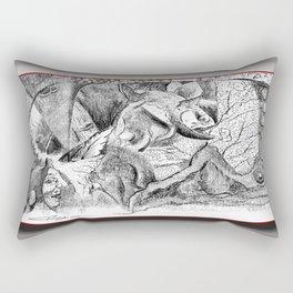 Snake Tippy Rectangular Pillow
