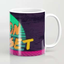 Neon Sunset Redux  Coffee Mug
