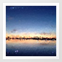 skyline Art Prints featuring Skyline by kelly*n photography