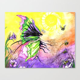 Pollination Promonade Canvas Print
