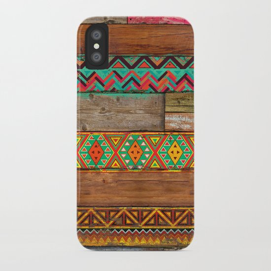 Indian Wood iPhone Case