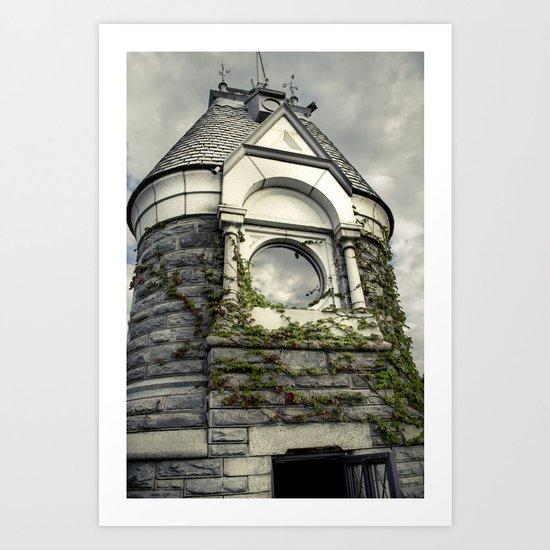 Rapunzel Castle (Central Park) Art Print