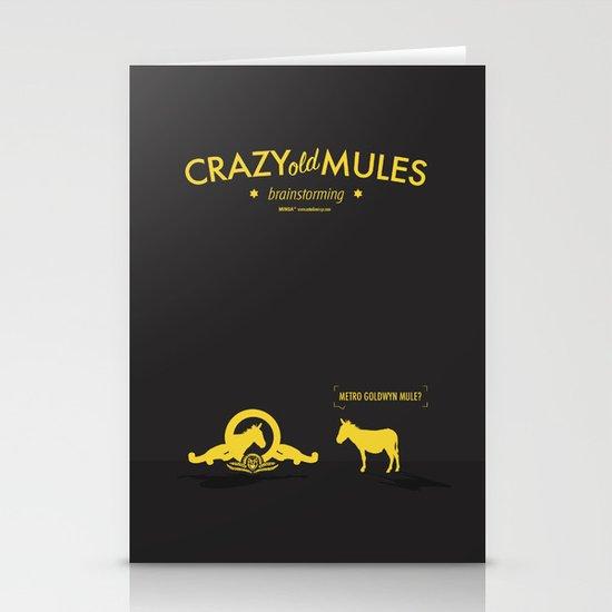 Crazy old Mule / Metro Goldwyn Mule Stationery Cards