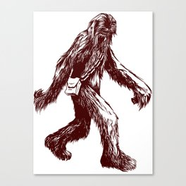 I Think There's a Squatch... Canvas Print