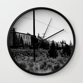 From the Other Side Wall Clock