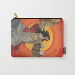 Sun Goddess moving through Time Carry-All Pouch