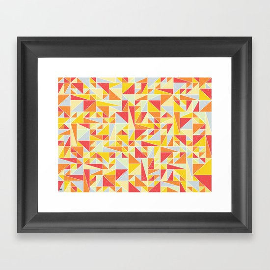 Shapes 008 Framed Art Print