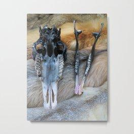 Bone Metal Print