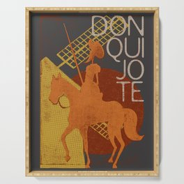 Books Collection: Don Quixote Serving Tray